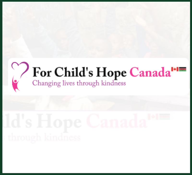 For Childs Hope Canada